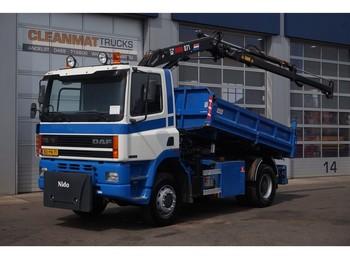 Kiper DAF 65.240 ATI 4x4 Hiab 7 ton/meter laadkraan: slika kiper DAF 65.240 ATI 4x4 Hiab 7 ton/meter laadkraan