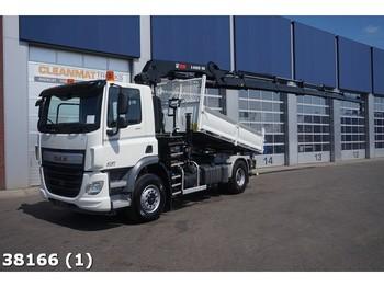 Kiper DAF FA CF 400 4x4H Euro 6 Hiab 18 ton/meter laadkraan: slika kiper DAF FA CF 400 4x4H Euro 6 Hiab 18 ton/meter laadkraan