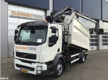Kiper Volvo FL 240 Hiab 8 ton/meter laadkraan