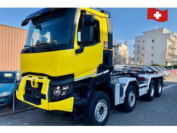 Renault K 460.    8x4.   EURO 6  - мултилифт с кука камион