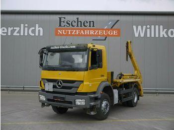 Мултилифт за контейнери камион Mercedes-Benz 1829 Axor, 4x2, Meiller AK 12 MT