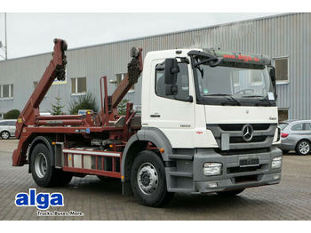 Мултилифт за контейнери камион Mercedes-Benz 1829 L Axor/Meiller AK 12MT/Teleskop/AHK