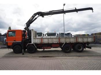 Renault DR 3238 8x2 OPEN BOX WITH HIAB 290 CRANE - камион