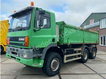 Ginaf M 3335-S 6X6 Kipper | 464 419km  - самосвал камион