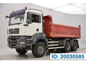 Самосвал камион MAN TGA 33.440 - 6x6 - tractor/tipper double use