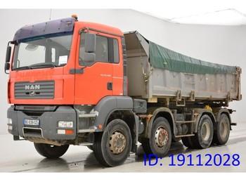 Самосвал камион MAN TGA 35.400 - 8x4