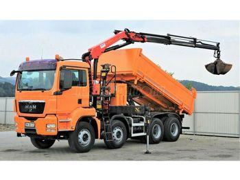 MAN TGS 35.400 Darus Billencs - самосвал камион