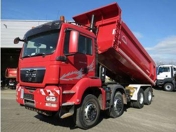 MAN TG-S 35.480 8x6H BL 4 Achs Muldenkipper Schalter  - самосвал камион
