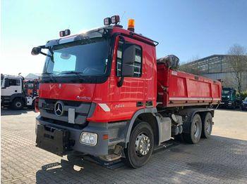 Самосвал камион Mercedes-Benz Actros 2644 6x4 Eur 5 Kipper Bordmatic Winterpl.