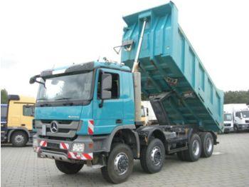 Самосвал камион Mercedes-Benz Actros 4141 8x6 4 Achs Muldenkipper Meiller 17m³