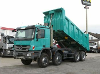 Самосвал камион Mercedes-Benz Actros 4141 8x8 4 Achs Muldenkipper