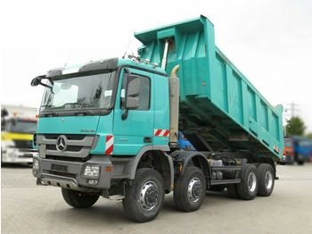 Самосвал камион Mercedes-Benz Actros 4141 8x8 4 Achs Muldenkipper Meiller 17m