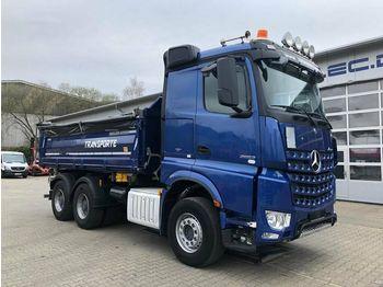 Самосвал камион Mercedes-Benz Arocs 2663 6x4 Kipper MEILLER Bordmatic