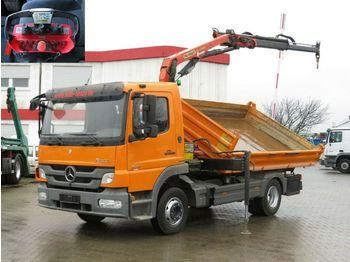 Mercedes-Benz Atego 924 K 2-Achs Kipper Kran Funk Greiferst  - самосвал камион