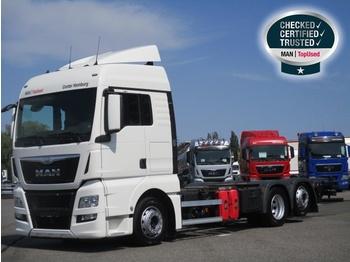 MAN TGX 26.440 6X2-2 LL, Euro 6, XLX, Intarder - транспортер на контејнер/ камион со променливо тело