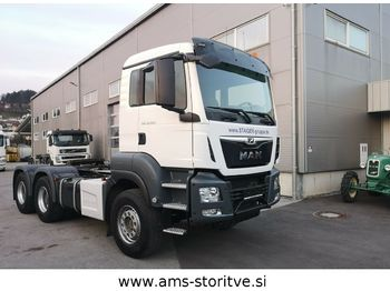 MAN TGS 26.500 6X4 BLS, Kipphydraulik, GG 90 Ton  - камион влекач