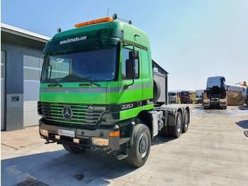 Mercedes Benz ACTROS 3353 AS 6x6 tractor head - SPRING - камион влекач