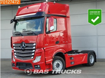 Mercedes-Benz Actros 1845 LS 4X2 Retarder ACC 2X Tanks GigaSpace Euro 6 - камион влекач