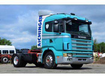 SCANIA 124L 420 2001 AC / RET - камион влекач