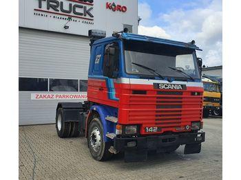 SCANIA T142. 450, Full Blat, Manual , V8 - камион влекач