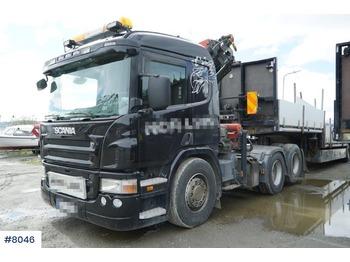 Scania P380 - камион влекач