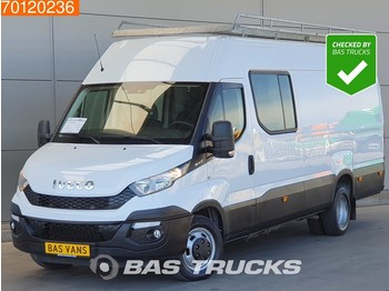 Furgon Iveco Daily 35C21 3.0 210PK Automaat Dubbel Cabine DC Imperiaal Airco Navi Camera L3H2 12m3 A/C Double cabin Towbar Cruise control