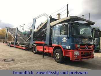 Autotransportues Mercedes-Benz ACTROS 1844 * LOHR AUFBAU *: foto 1