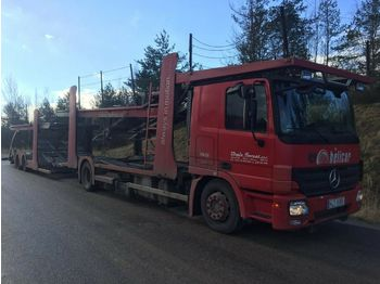 Autotransportues Mercedes-Benz Actros 1844 E5 + Rimo PL4