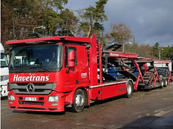 Autotransportues Mercedes-Benz Actros 1844 EEV, Kässbohrer Supertrans