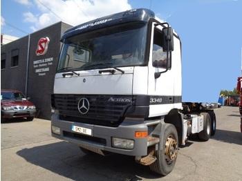 Kamion kabinë-shasi Mercedes-Benz Actros 3340 transformable en tracteur lames/Steel
