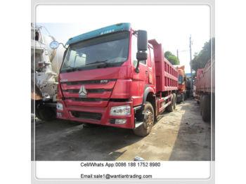 HOWO 375 - kamion vetëshkarkues