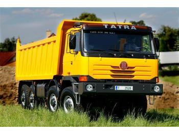 TATRA T815 8x8 S1 Kipper 13m3 - 4 Stück - kamion vetëshkarkues