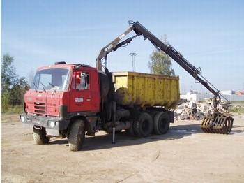 Tatra T815 S1 s HR 8000 - 8m + drapák - kamion vetëshkarkues