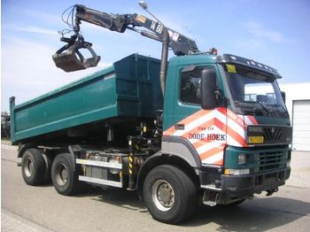 Terberg FM 1350 6x6 Kipper/Kraan - kamion vetëshkarkues