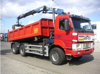 Terberg FM 1350-WDGL 6x6 Kipper/Kraan - kamion vetëshkarkues