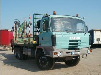 Tatra T 815 T2 6x6 timber carrier - kamioni