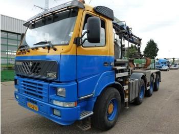 Terberg FM 1950 HT 8x6 Haak Kraan - transportjer kontejnerësh/ kamion me karroceri të çmontueshme