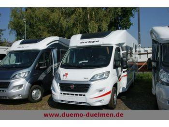 Sunlight T 67 - 2015 Einzelbetten+Hubbett  - furgon kamper
