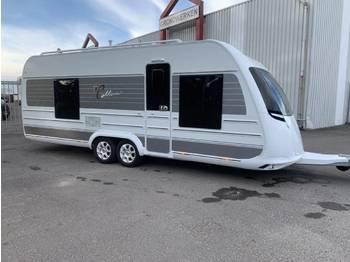 Tabbert Cellini 590 caravan frans bed douche wc TV Visite Avant LE KWT AIRCO - przyczepa kempingowa