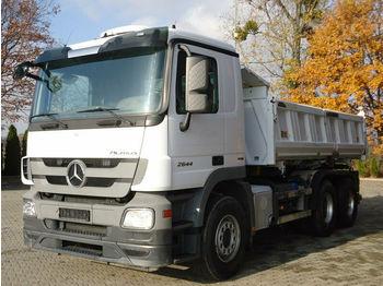 Damperli kamyon Mercedes-Benz ACTROS 2644 6x4 EURO5 DSK mit Bordmatik Meiller