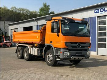 Damperli kamyon Mercedes-Benz Actros 2644 6x4 Euro 5 Meiller Kipper Bordmatic