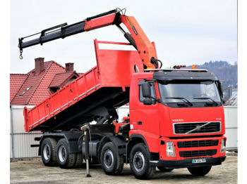 Volvo FH12 420 Kipper+Bordmatic 6,30m+Kran Topzustand!  - damperli kamyon