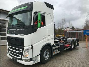 Kancalı yükleyici kamyon Volvo FH 460 6x2 Abrollkipper Multilift XENON Leder