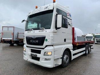 MAN TGX 26.440 XXL  6x2 Liftachse Euro 6 - konteynır taşıyıcı/ yedek karoser kamyon
