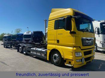 Konteynır taşıyıcı/ yedek karoser kamyon MAN * TG 18.440 * 3.ACHS * LIFTACHSE * RETARDER *