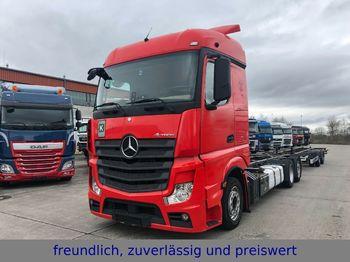 Konteynır taşıyıcı/ yedek karoser kamyon Mercedes-Benz *ACTROS 2542*RETARDER*EURO 5*LIFT ACHSE *