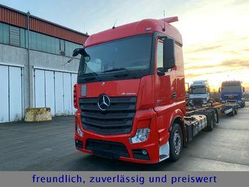 Konteynır taşıyıcı/ yedek karoser kamyon Mercedes-Benz *ACTROS 2542*RETARDER*STANDHEIZUNG*: fotoğraf 1