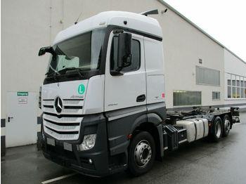 Konteynır taşıyıcı/ yedek karoser kamyon Mercedes-Benz Actros 2542L Stream LBW Euro6