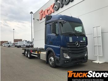 Konteynır taşıyıcı/ yedek karoser kamyon Mercedes-Benz Actros ACTROS 2542: fotoğraf 1