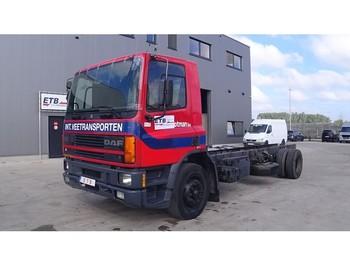 Şasi kamyon DAF 65 ATI 210 (MANUAL PUMP / STEEL SUSP. / PERFECT CONDITION)